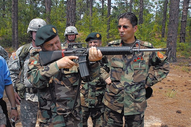 Recruiting, Retention School Aids Afghan Army