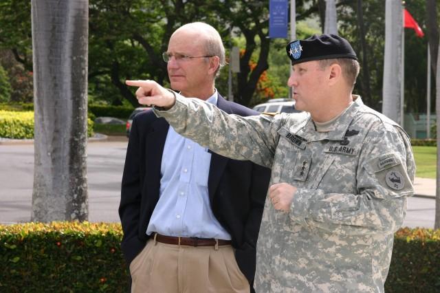 Acting Army Secretary visits Hawaii