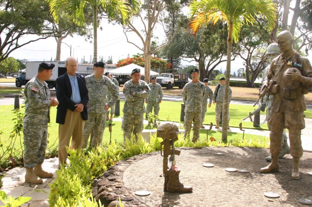Acting Army Secretary visits Hawaii