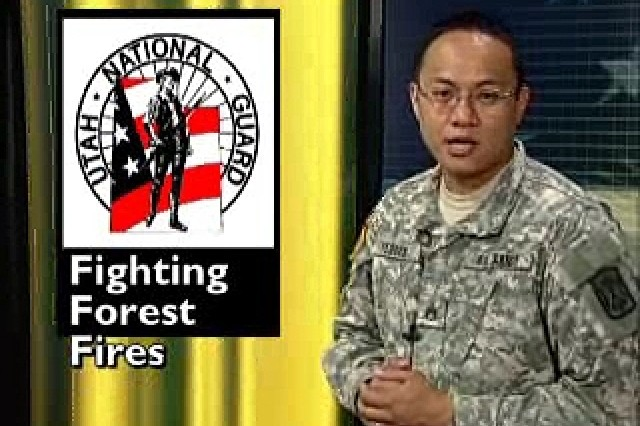 National Guard Fights Fires in Utah