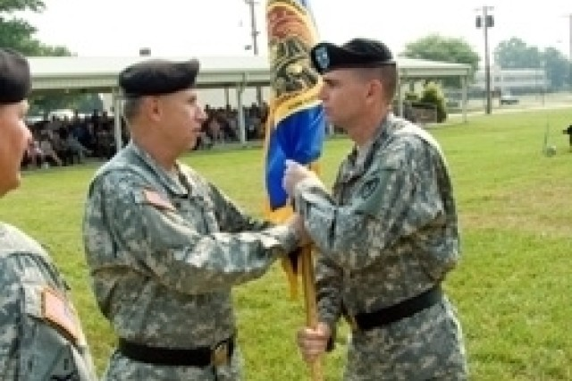 Historic change of command ceremony at Aberdeen Proving Ground