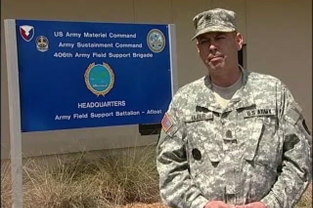 Command Sgt. Maj. Dan Elders