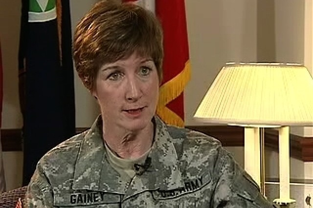 An interview with Maj. Gen. Kathleen Gainey, SDDC's commander.