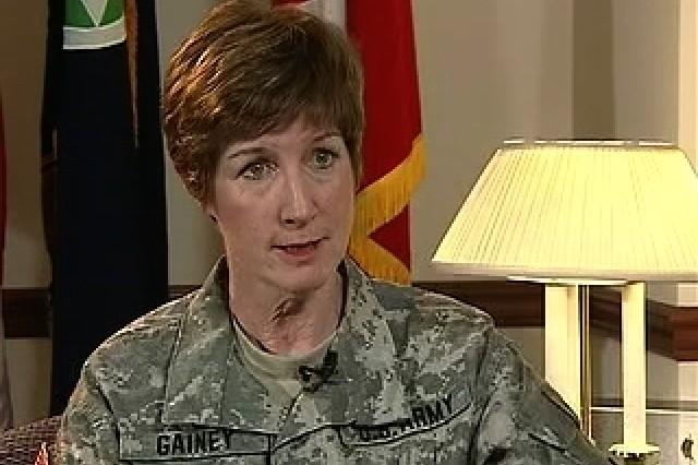 An interview with Maj. Gen. Kathleen Gainey, SDDC's commander.