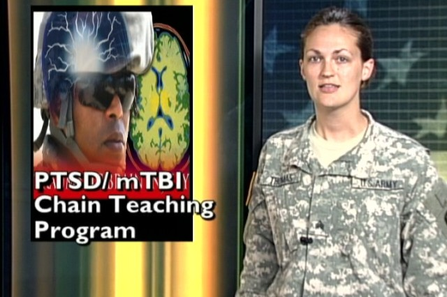 PTSD and mTBI Chain Teaching Program available in two locations.