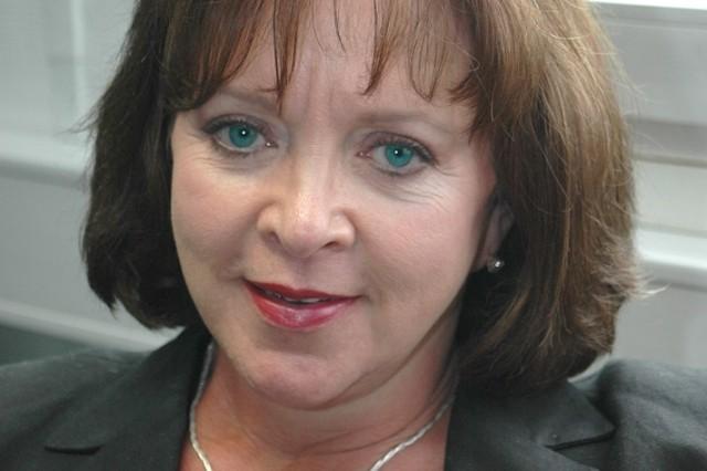 USAG Heidelberg's chief of plans and integration, MaryPat Begin-Ortiz, is a cancer survivor.