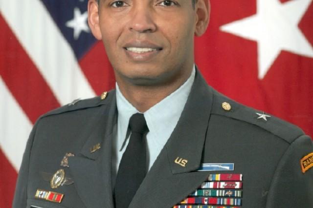 Brig. Gen. Vincent K. Brooks, deputy commander for support, Multinational Division Baghdad.