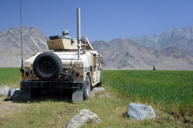 Afghan, Coalition Forces Defeat Insurgent Ambush