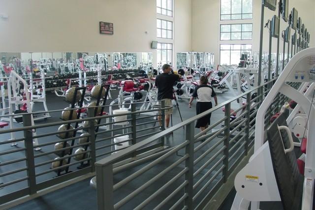 New Benning Fitness Center Showcases Design Criteria