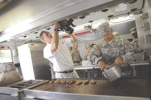 SPOTLIGHT ON MILITARY FOOD SERVICE
