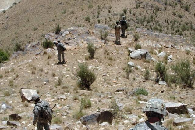 Trekking Up and Down Nuristan