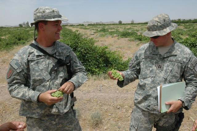 Civilian Job Skills Help Guard Soldiers Address Afghanistan's Poppy Problem