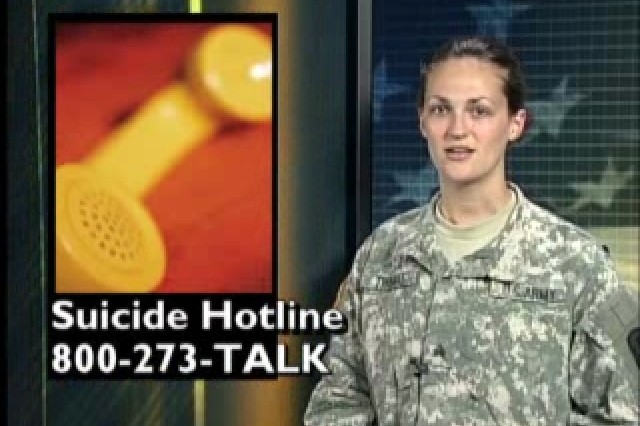 Suicide Hotline: 800-273-TALK