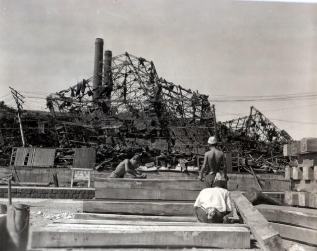 Rebuilding in Nagasaki