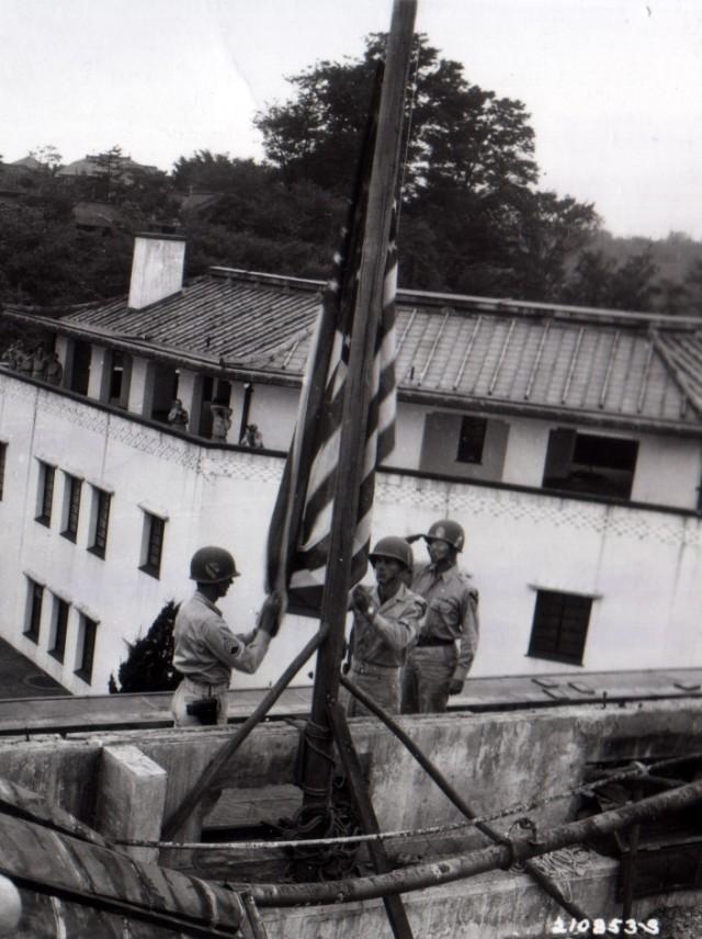U.S. Flag in Tokyo