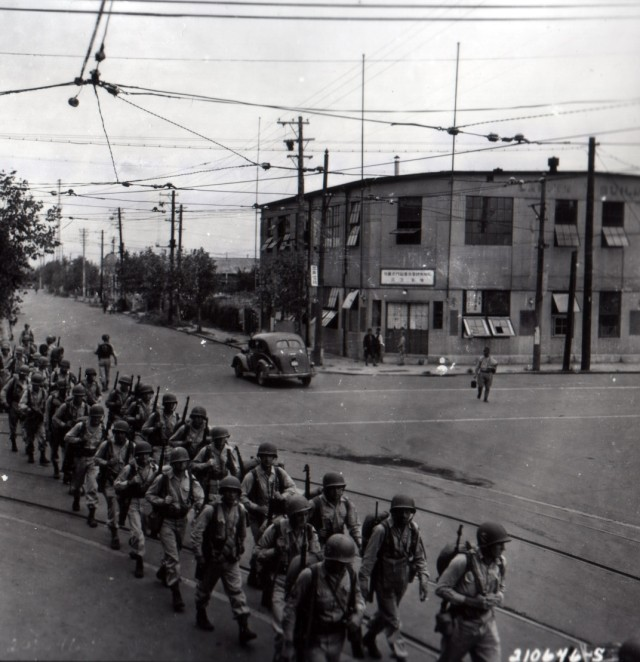 1st Cavalry Division Arrives