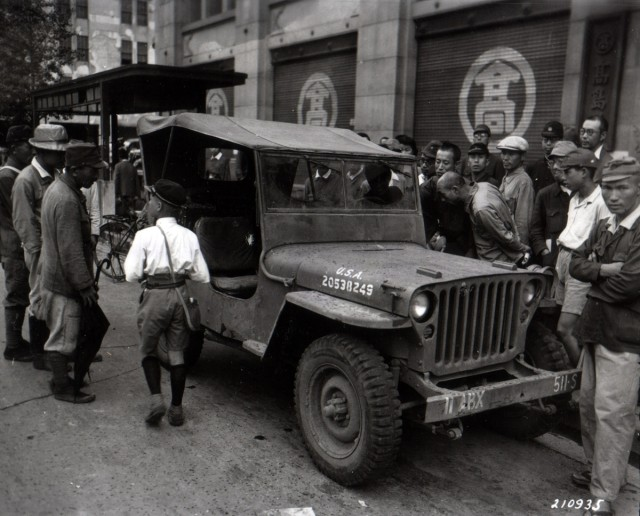 Jeep in Tokyo
