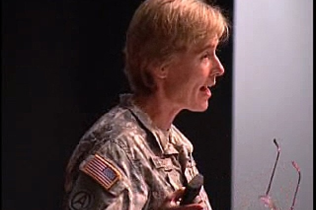 Col. Elspeth Ritchie, the Psychiatry Consultant