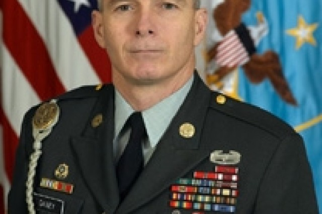 Sgt. Maj. William J. Gainey, senior enlisted advisor to the Joint Chiefs.