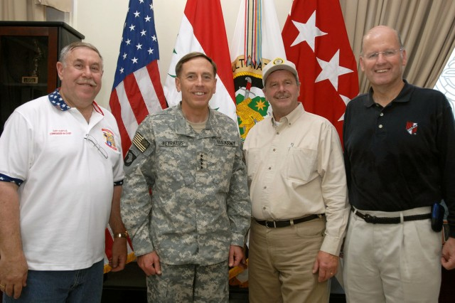 Veterans Service Group Leaders Visit Iraq, Gain Understanding