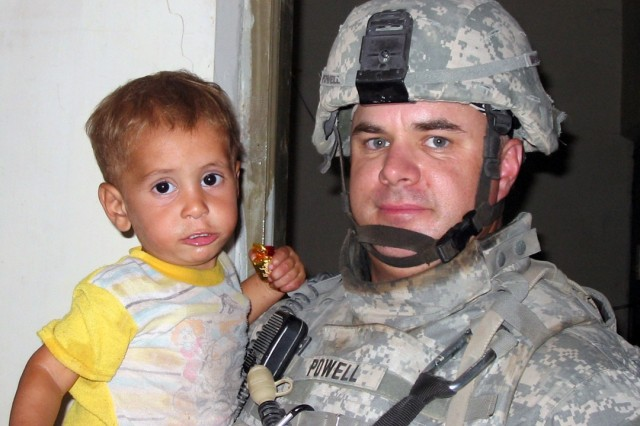 Soldiers Rescue Boy from Well
