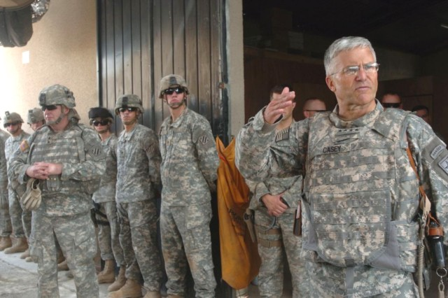 Army Chief of Staff Visits Soldiers in Iraq, Afghanistan