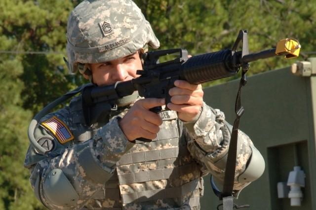 Army's 'Best Warrior' NCO Advises Competitors