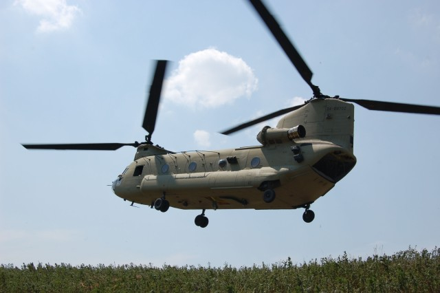 New Chinook Unveiled at Fort Campbell