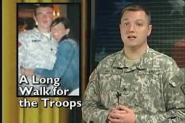 A Long Walk for the Troops.