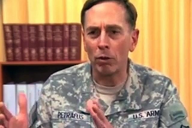 Gail McCabe interviews Gen. David Petraeus.