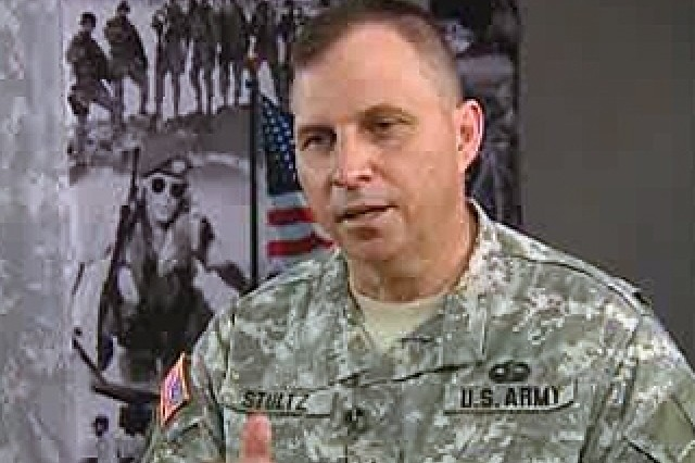 Lt. Gen. Jack Stultz, the Chief of U.S. Army Reserve