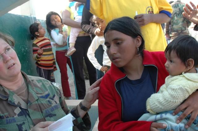 Aid in Peru a Team Effort