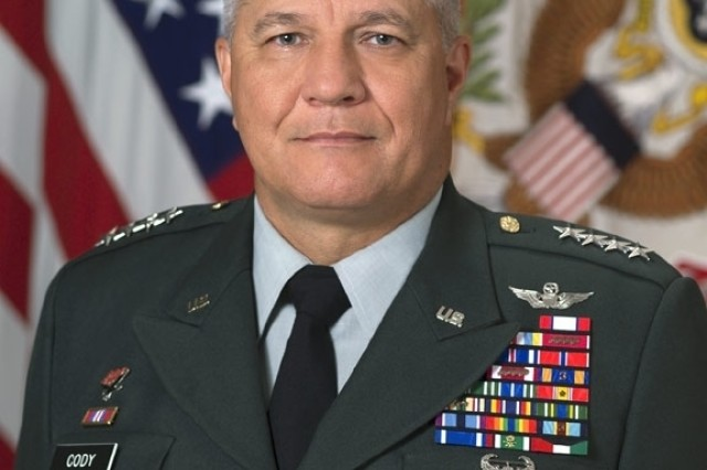 Gen. Richard A. Cody, 31st U.S. Army Vice Chief of Staff.