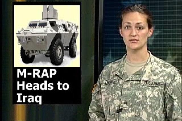 M-RAP Heads to Iraq