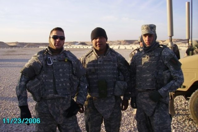 "Sgt. Fransen and Charlie Co 1-16 INF  ""Bandido's"""