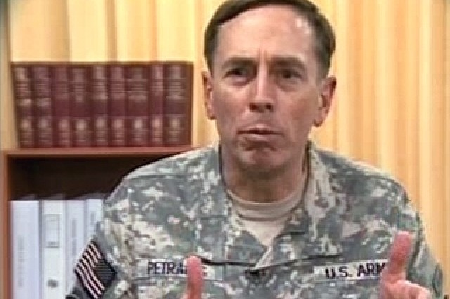 Gen. Petraeus: Every Soldier counts.