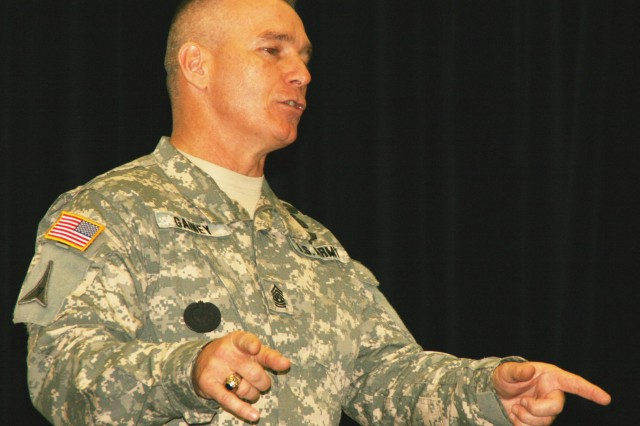 Senior Enlisted Advisor Passes on Lessons Learned to NCO Academy Grads
