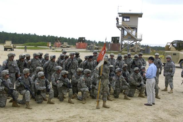 SecArmy visits Fort Dix
