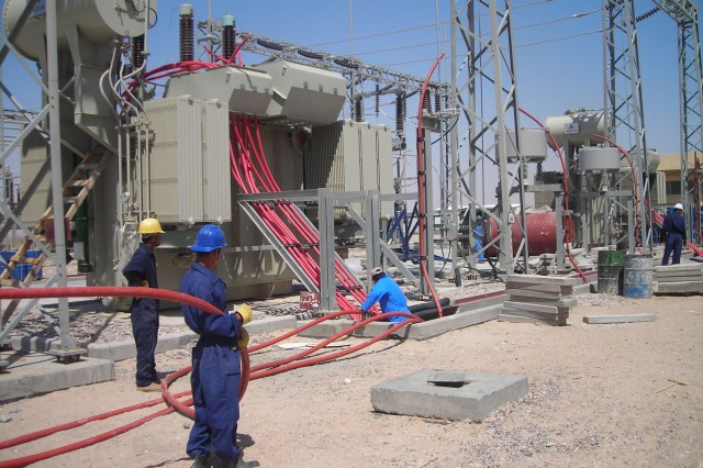 Electricity Generation in Iraq Improves, General Says