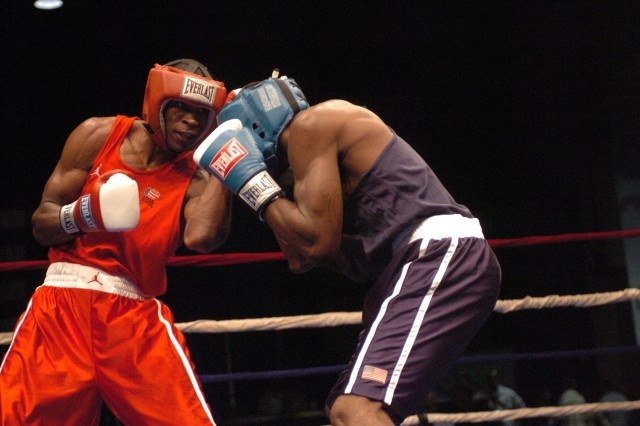 Infantryman earns spot on 2008 U.S. Olympic Boxing Team