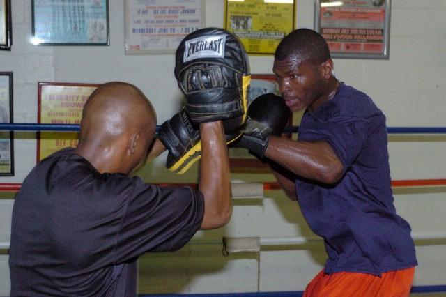 Infantryman earns spot on 2008 U.S. Olympic Boxing Team