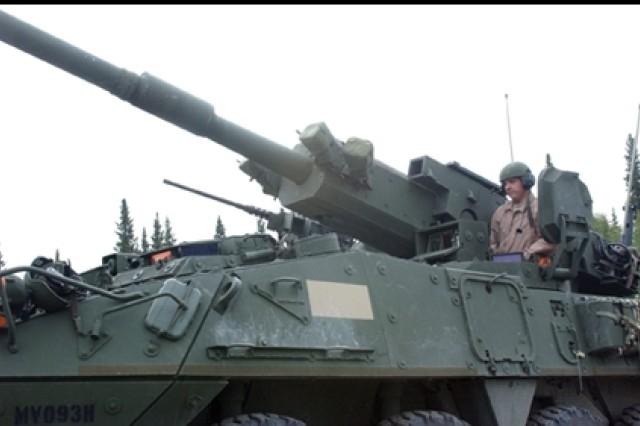 Stryker crews train on new Mobile Gun System