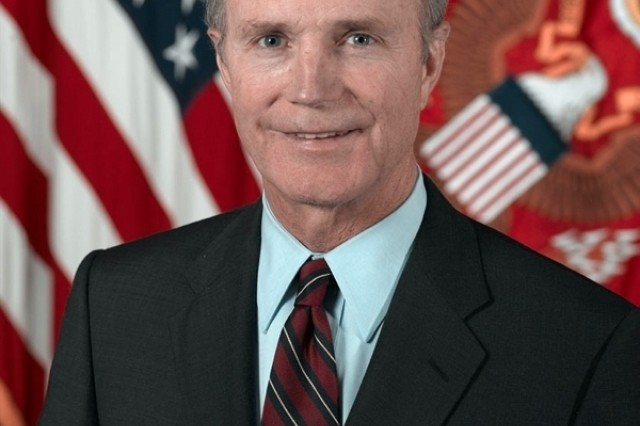 Official Portrait of Secretary of the Army Pete Geren