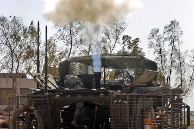 Stryker Soldiers Strike