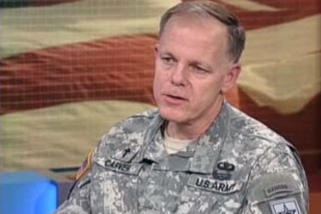 Maj. Gen. Douglas Carver, Army Chief of Chaplains