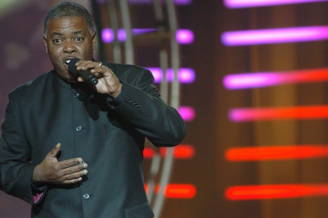 Sgt. William Glenn, who won the original Military Idol competition in 2005, returned to perform during the 2006 Military Idol finals at Fort Belvoir, Va. The contest has been renamed Operation Rising Star and opened to active duty, National Guard and Reserves from all service branches.