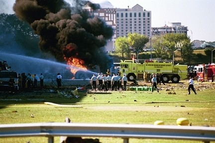 Image result for 9/11 pentagon photos rescuers