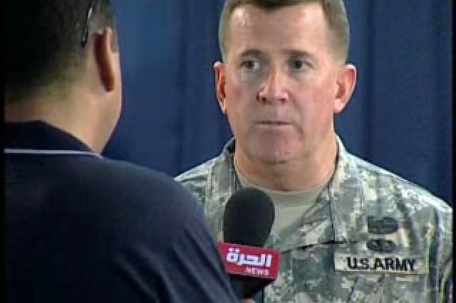 Brig. Gen. Kevin Bergner, Spokesperson, MNF-I