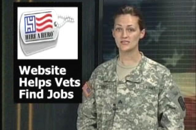 Website helps vets find jobs