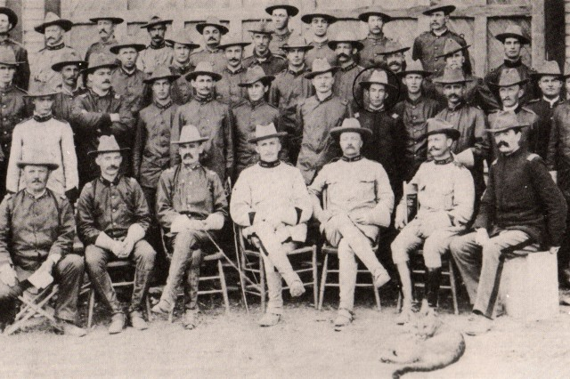 "Roosevelt's ""Rough Riders"""